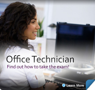 Office Technician examination information for candidates.