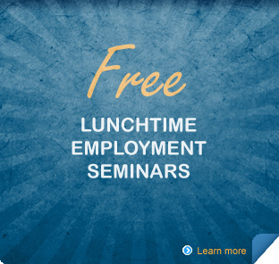 Free Lunchtime Employment Seminars